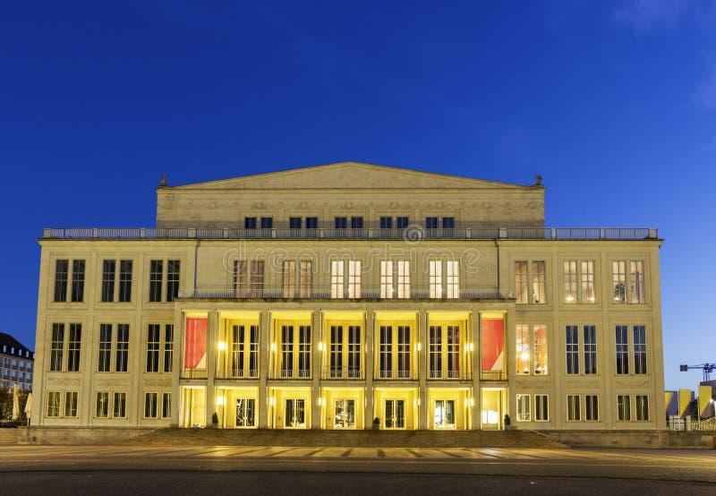 Leipzig opera arkivfoton