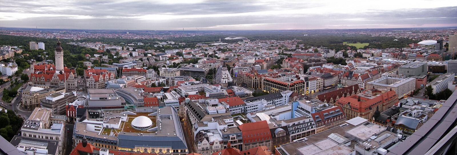 Leipzig Panorama royalty free stock images
