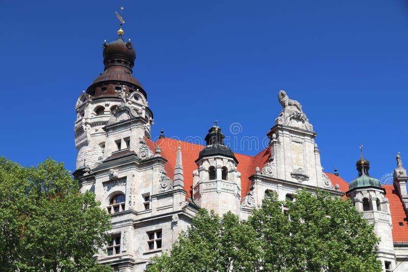 Leipzig Rathaus fotos de stock royalty free