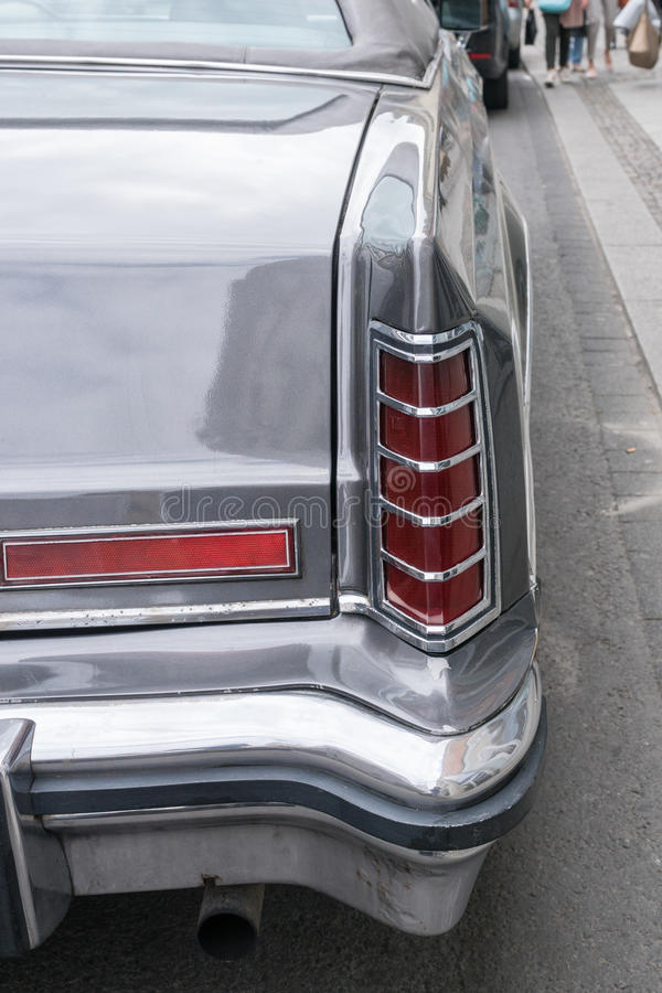 LEIPZIG, SAXE, ALLEMAGNE 14 MAI 2016 : Lincoln Continental p images stock