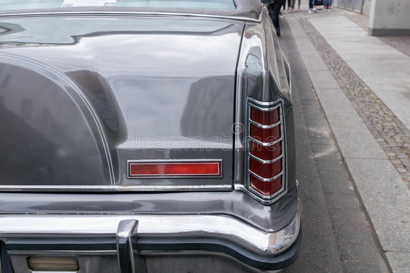 LEIPZIG, SAXE, ALLEMAGNE 14 MAI 2016 : Une PA de Lincoln Continental image stock