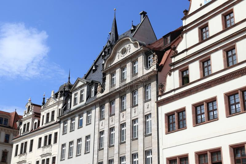 Leipzig Tyskland royaltyfria bilder