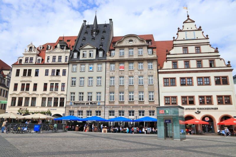 Leipzig Tyskland royaltyfri bild
