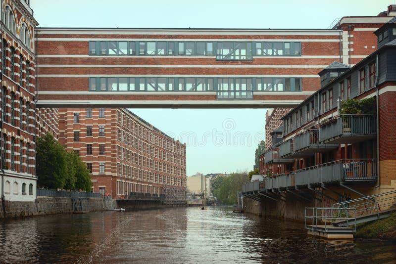 Leipzig Tyskland fotografering för bildbyråer