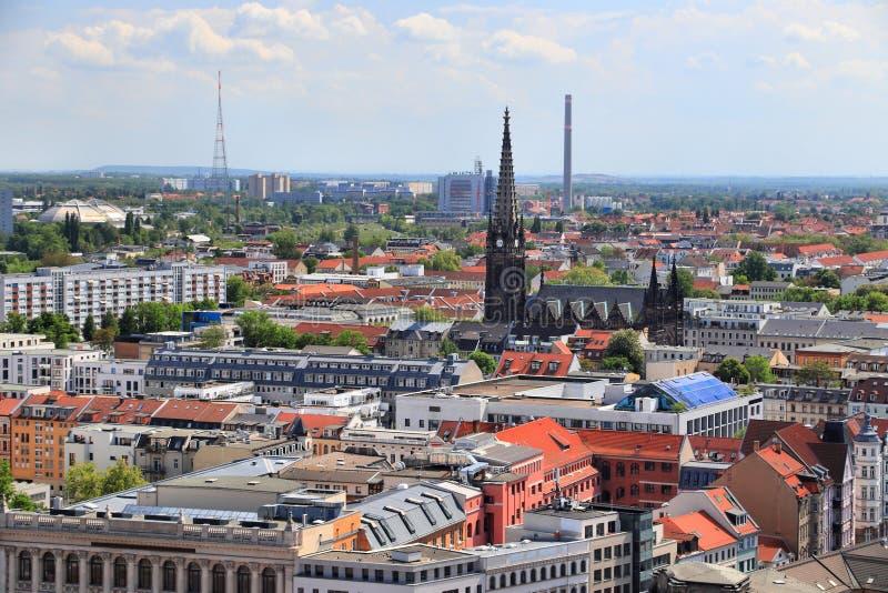 Leipzig Tyskland arkivbild