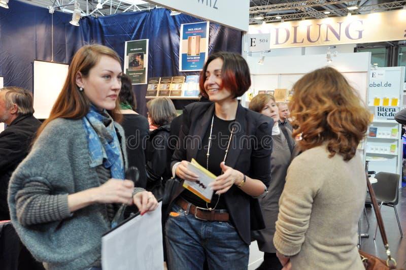 Offentlig dag för den Leipzig bokmarknaden royaltyfri foto