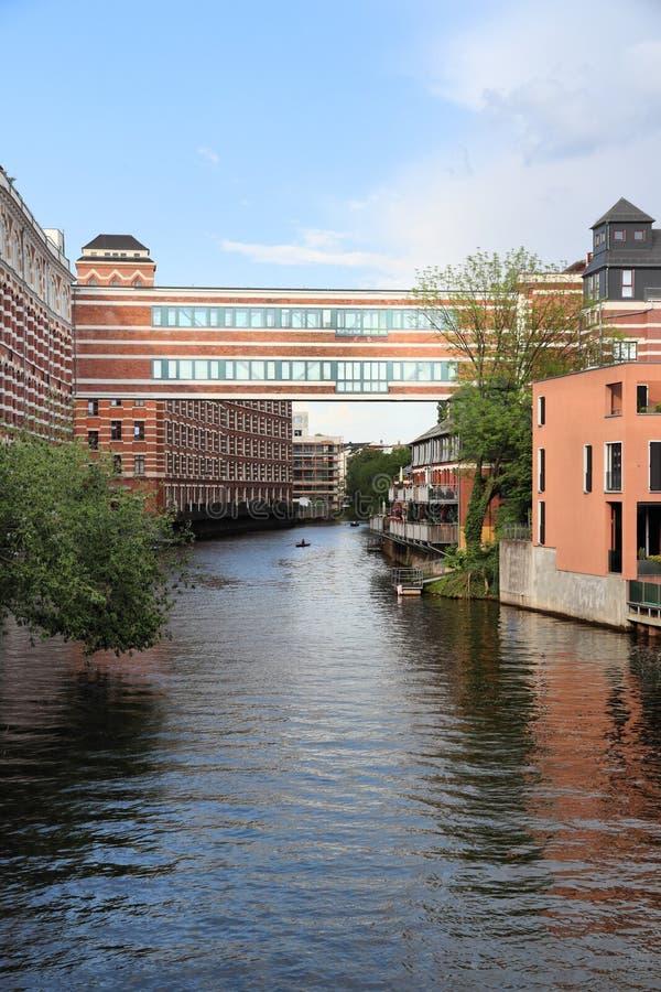 Leipzig Tyskland arkivfoto