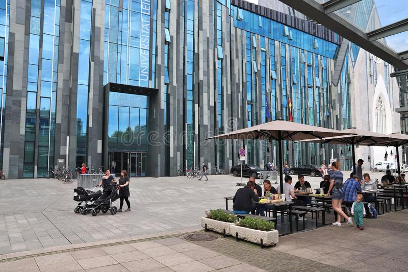 Leipzig universitet arkivfoto