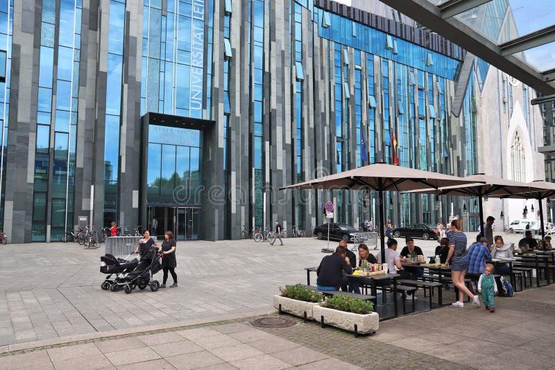Leipzig uniwersytet zdjęcie stock
