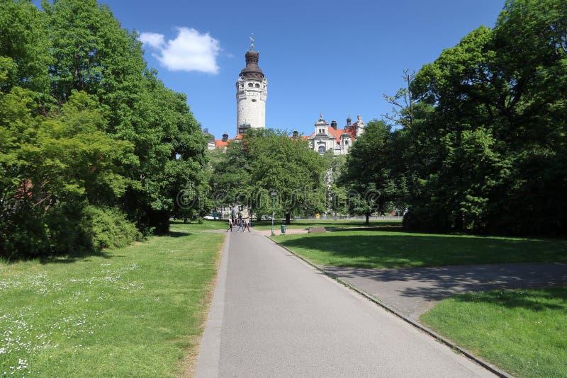 Leipzig urz?d miasta obrazy royalty free