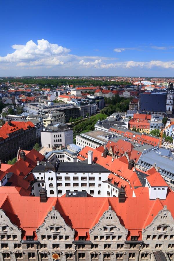 Leipzig Zentrum royaltyfri bild