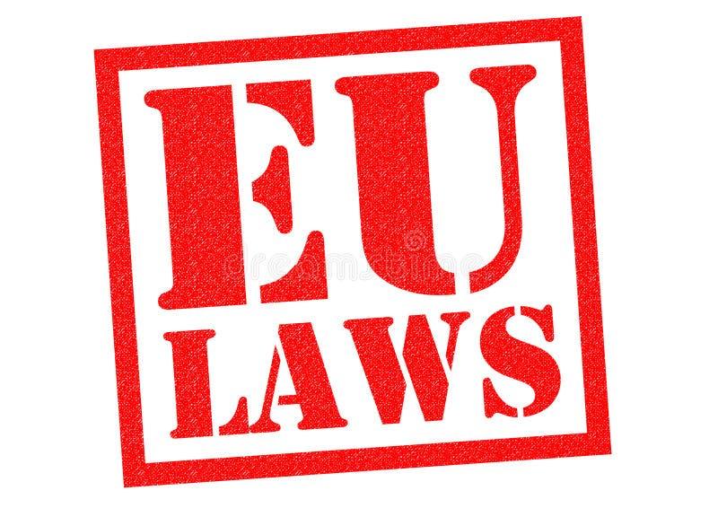 LEIS DA UE ilustração stock