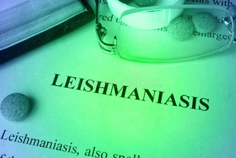Leishmaniasissjukdom arkivfoto