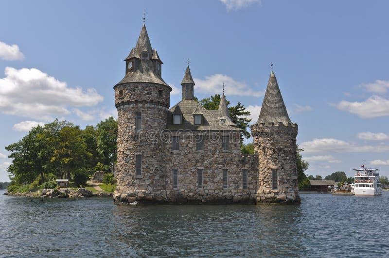 Leistung-Haus, Boldt Schloss in tausend Inseln, USA stockfotografie