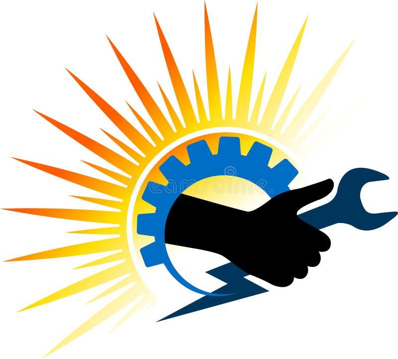 Leistunghandwerkzeug stock abbildung