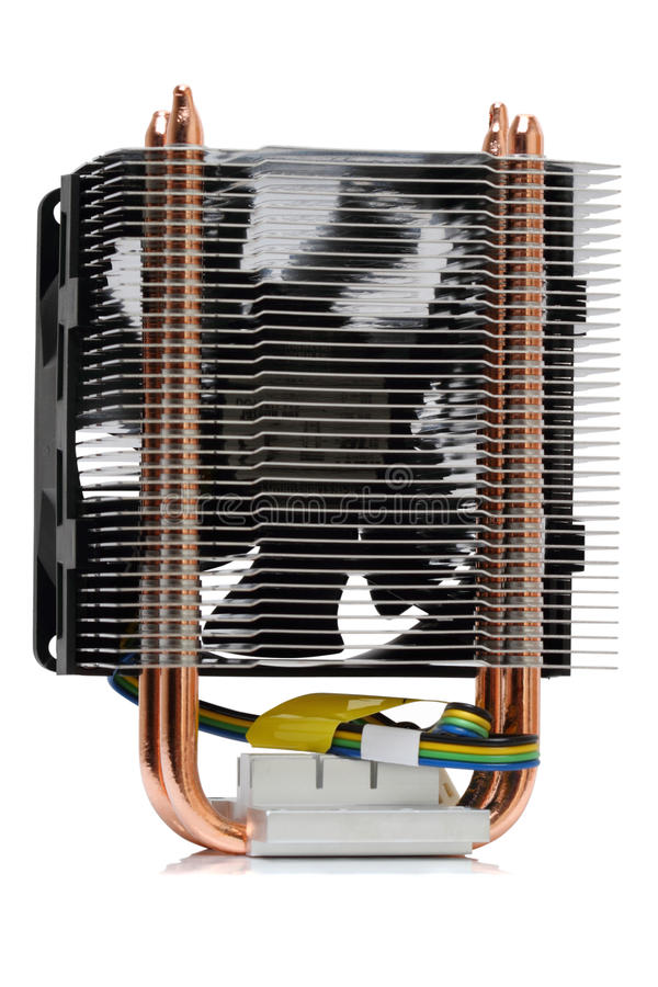 Leistungsfähiger CPU-Kühler lizenzfreies stockfoto