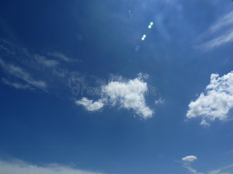 Leisure blue sky royalty free stock photo