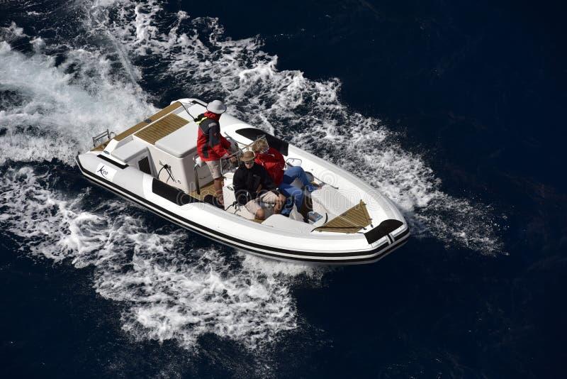Leisure Boat, Monaco, Europe royalty free stock image