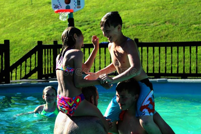 Leisure, Fun, Water, Swimming Pool stock photos