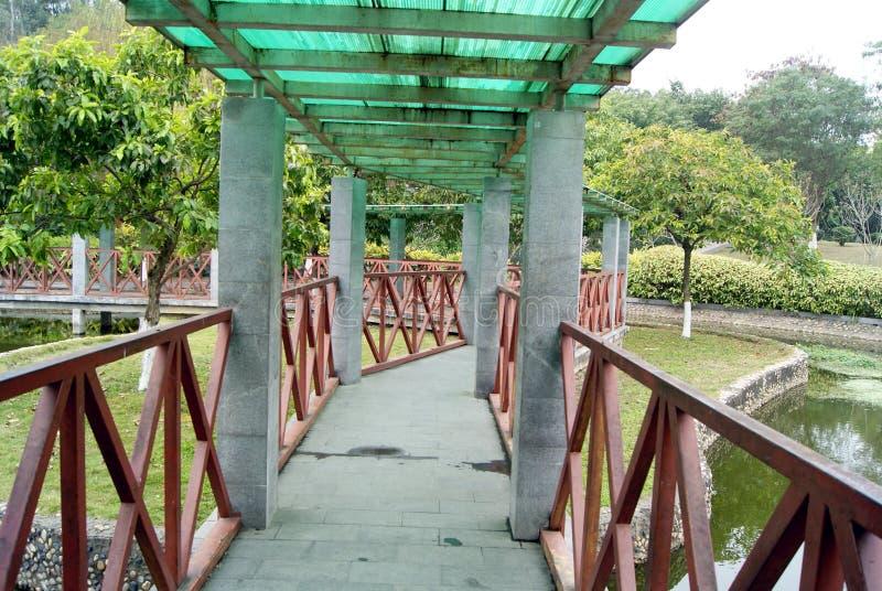 Leisure pavilion and corridor