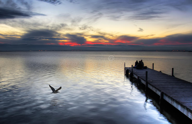 Download Leisure at sea stock image. Image of river, reservoir - 12750427