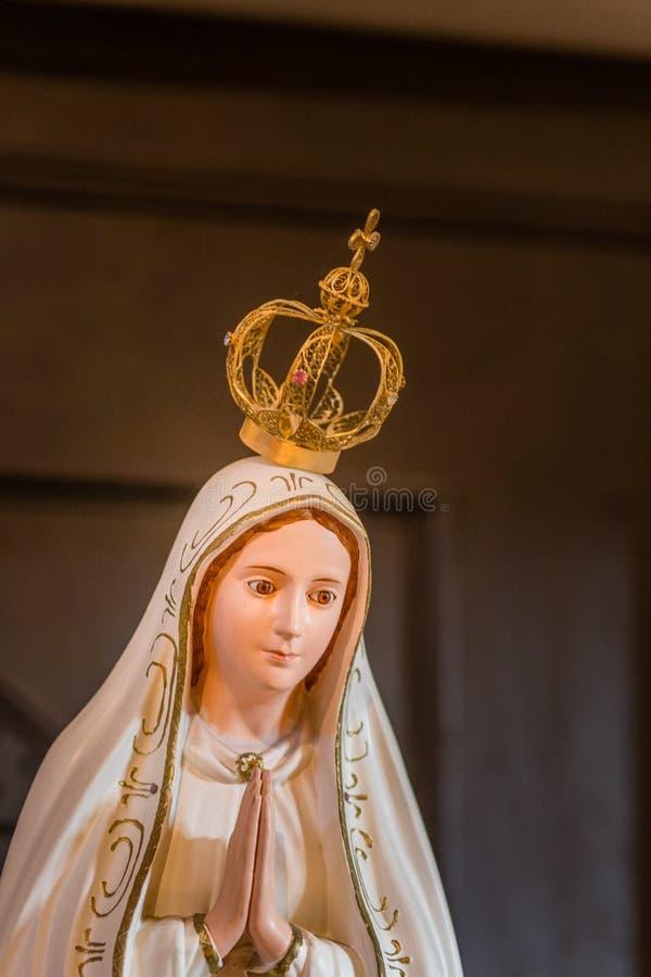 LEITARTIKEL, unsere Dame von Fatima stockbild