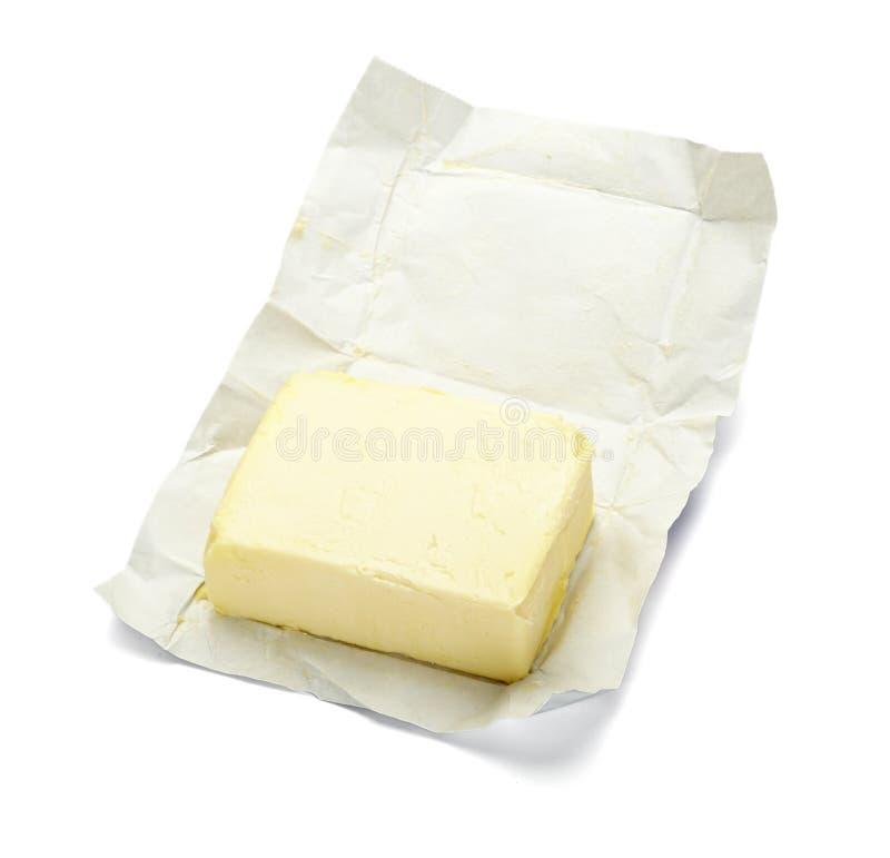 Leite da leiteria do colesterol do alimento da margarina da manteiga fotografia de stock royalty free