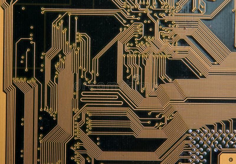 Leiterplatte und integrierte Schaltungen lizenzfreie stockfotos