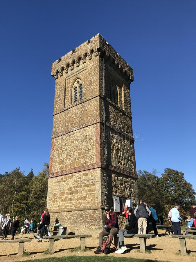 Leith Hill Tower immagini stock