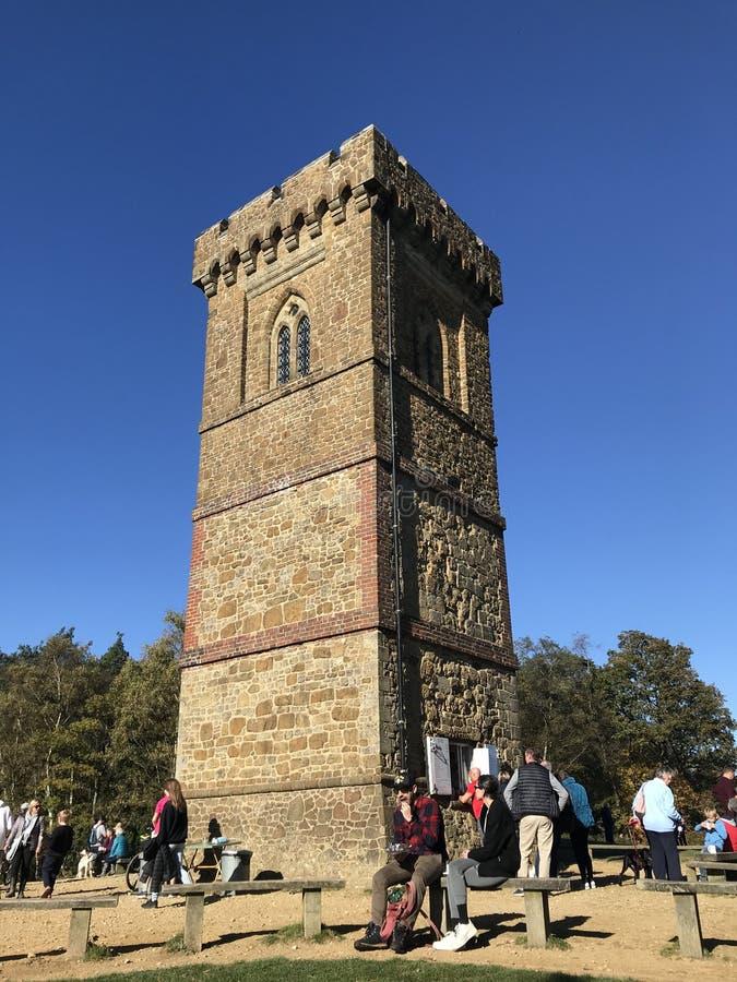 Leith Hill Tower stockbilder