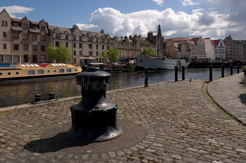 Leith Waterfront royalty free stock image