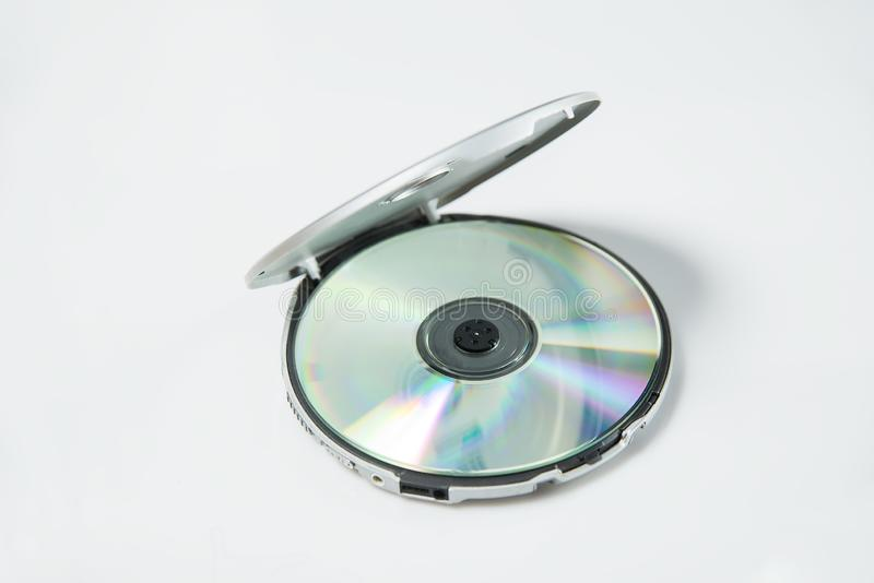 Leitor de cd foto de stock
