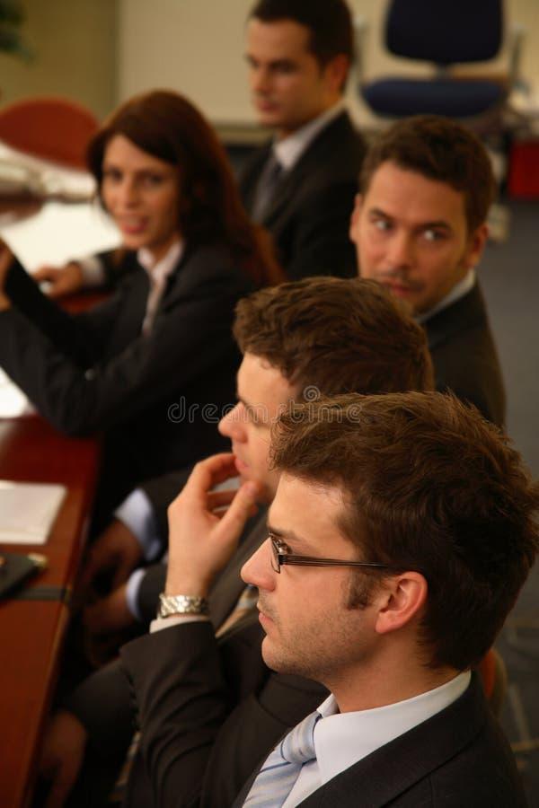 Leitprogramme in einer Konferenz lizenzfreie stockfotografie