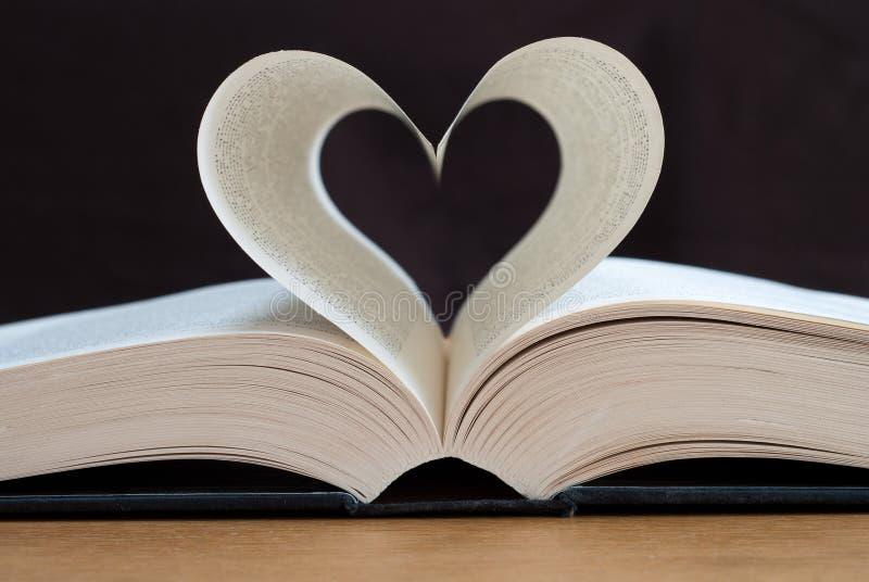 Leitura do amor imagens de stock