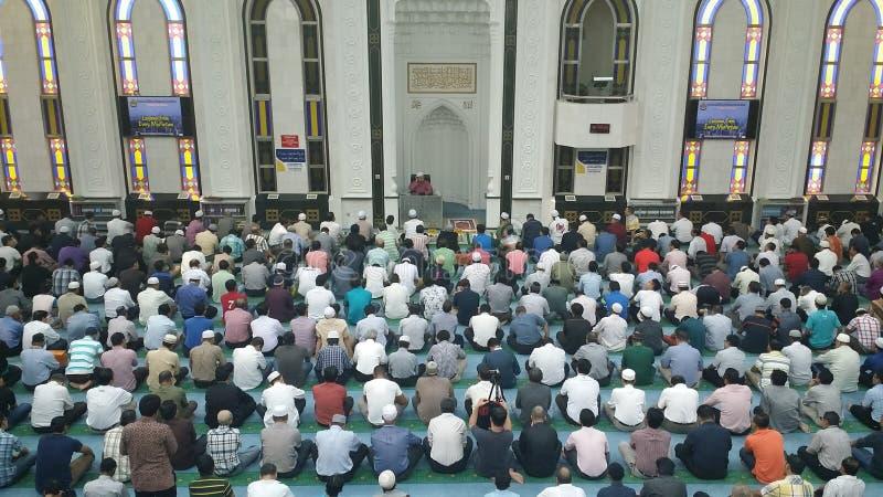 Leitura islâmica imagens de stock royalty free