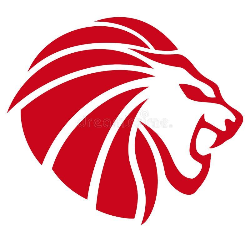Lejon royaltyfri illustrationer
