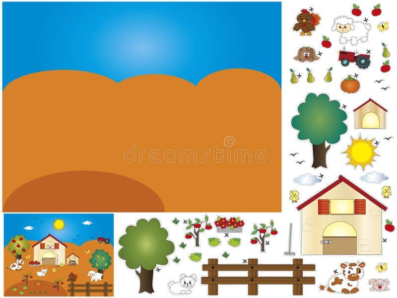 Lek stock illustrationer