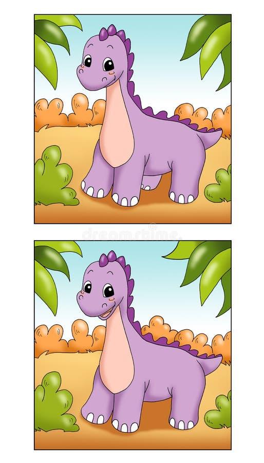 lek för 22 skillnader royaltyfri illustrationer