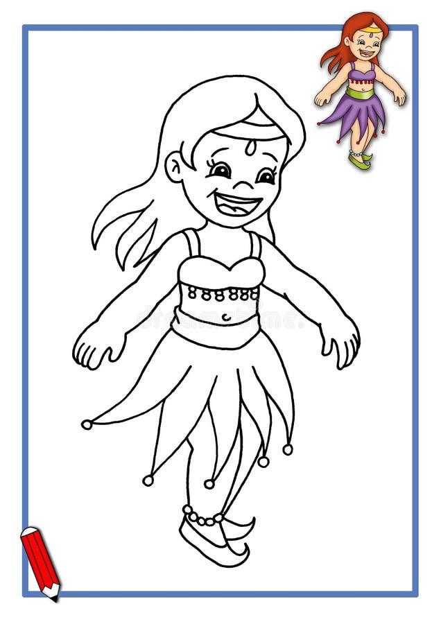 Lek liten dansare 3 arkivfoto