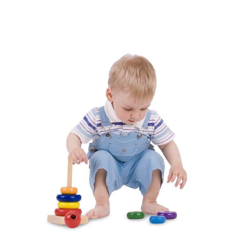 leka för barnbana royaltyfri foto