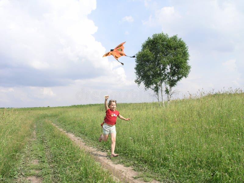 leka för drake fotografering för bildbyråer
