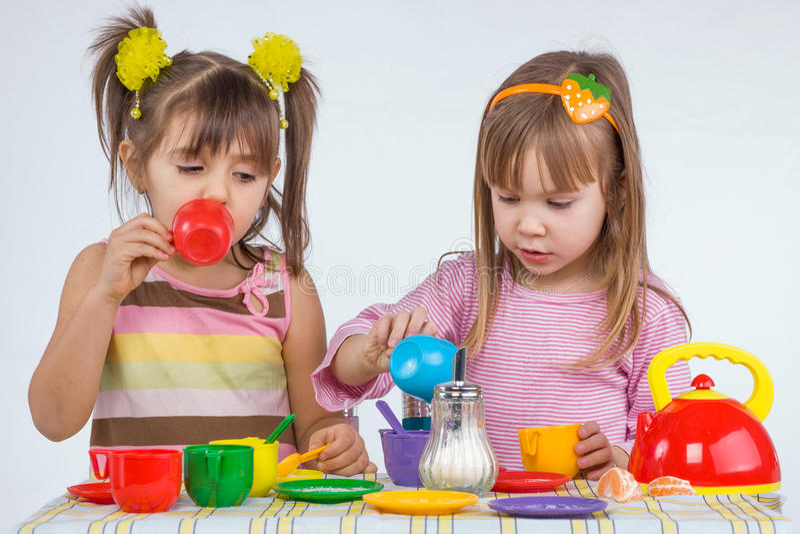 Leka för ungar arkivfoto