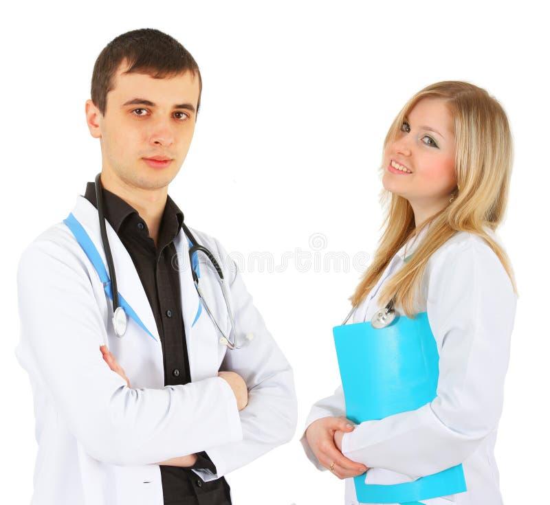 lekarki dwa obraz stock