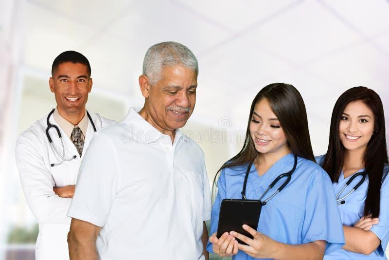 Lekarki i pielęgniarki fotografia royalty free