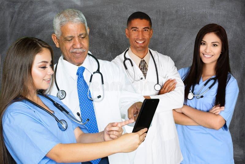 Lekarki i pielęgniarki zdjęcie stock