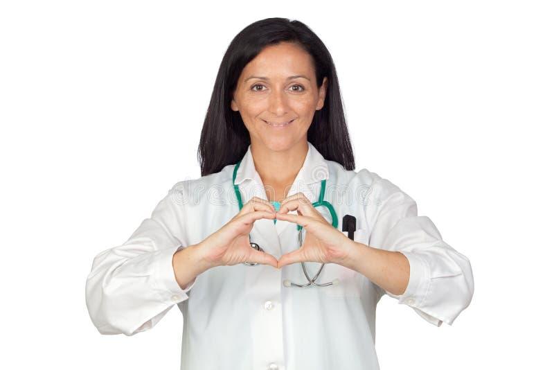 lekarki ręk kierowy kładzenia kształt ich obraz royalty free