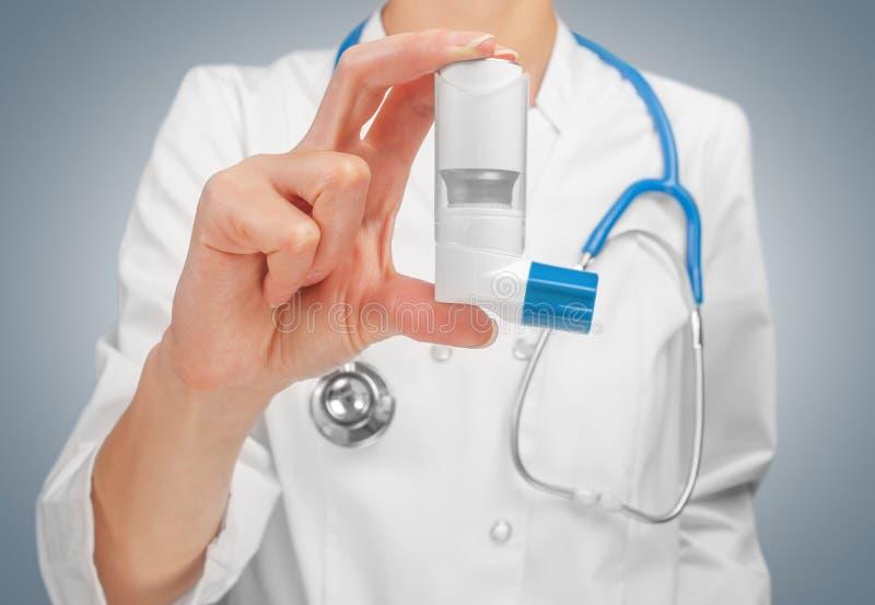 Lekarstwo dla astmy zdjęcia royalty free