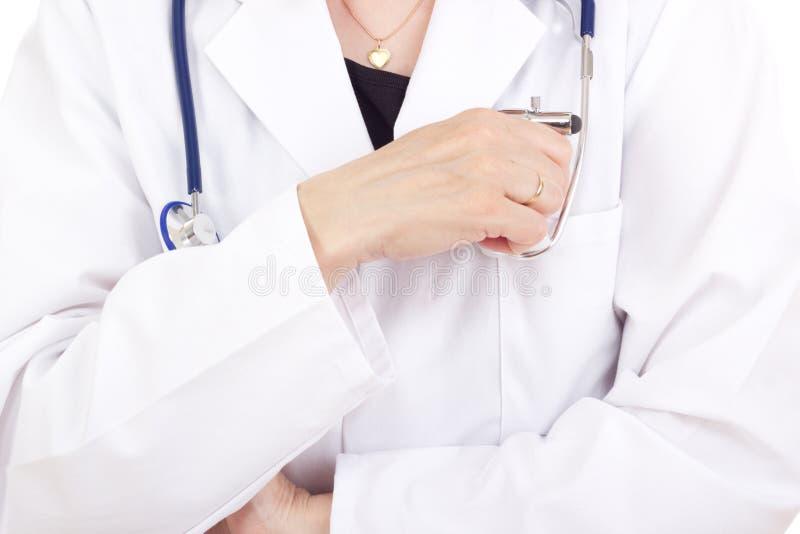 Lekarz medycyny obraz royalty free
