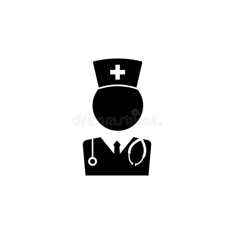 Lekarz medycyny ikona Doktorska element ikona Premii ilości graficzny projekt Znaki, konturów symboli/lów inkasowa ikona dla stro ilustracji