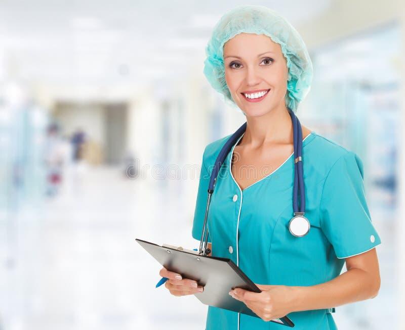 Lekarz medycyny kobieta obraz stock